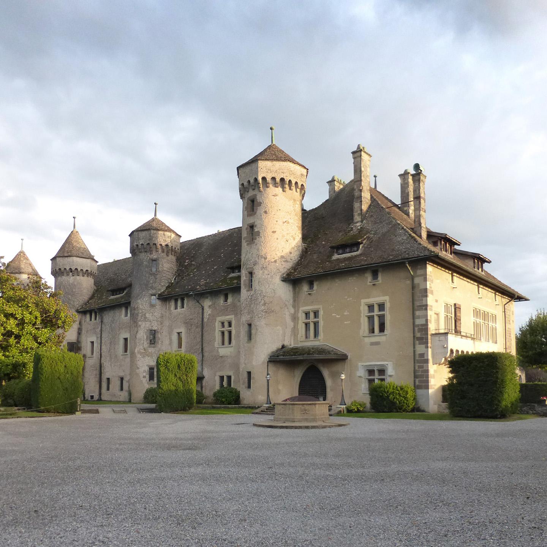 Le château de Ripaille à Thonon-les-Bains