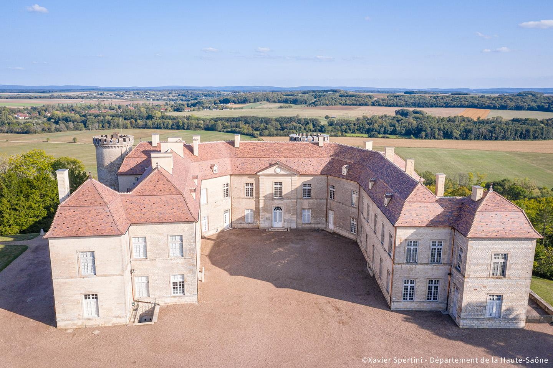 Domaine départemental du château de Ray-sur-Saône