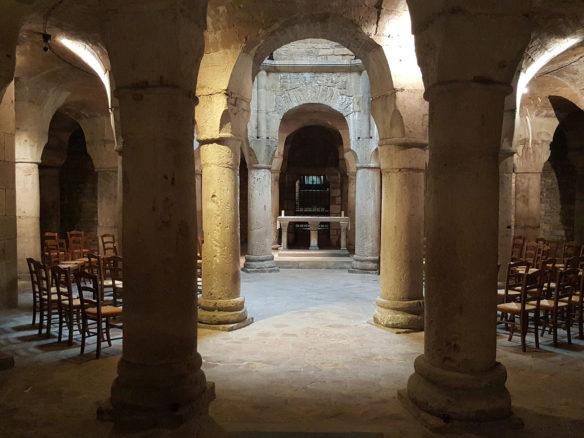 Rotonde de la cathédrale Saint-Bénigne de Dijon