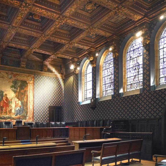 Cour d'Appel de Dijon : restauration générale des enveloppes