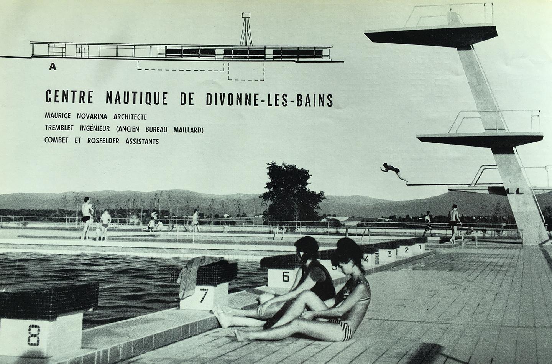Le centre nautique de Divonne-les-Bains