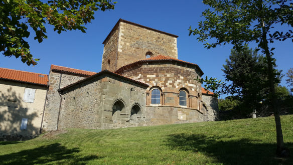 L'ancienne abbaye de Doue en Haute-Loire