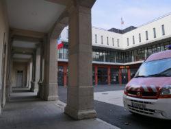 La caserne de pompiers de Lyon Confluence
