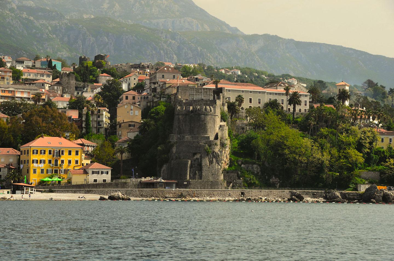 La ville fortifiée d'Herceg Novi, Monténégro